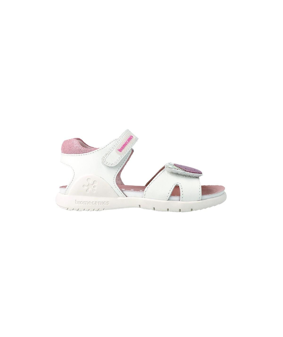 Sandales en cuir Fille